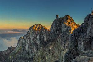 Top of Mt. Merapi - Yogyakarta
