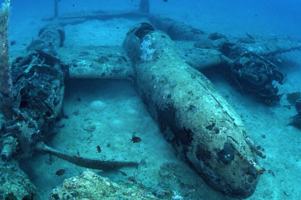 WW2 Wrecks